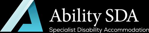 Ability SDA Logo White