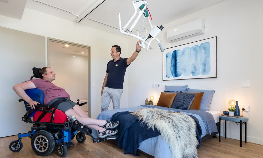 Ability SDA Disability Housing Central Coast Testimonial David's Story